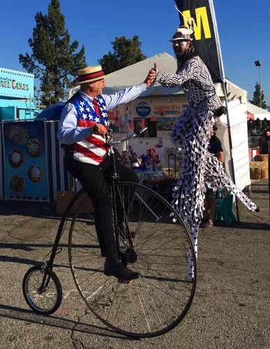 High Five at National Orange Show