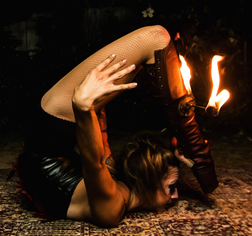 Pheonix Fire Contortion