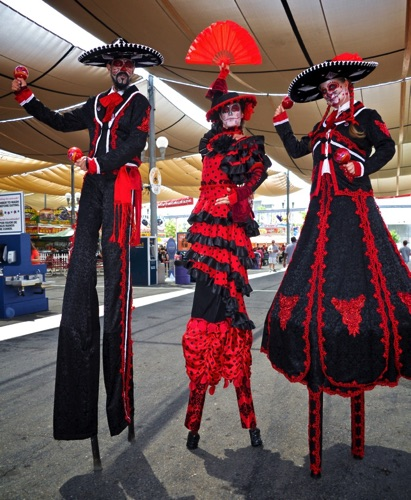 Fair Maracas  Red and Black Trio