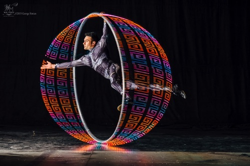 David LED Cyr Wheel with Shapes  ~Specialty~
