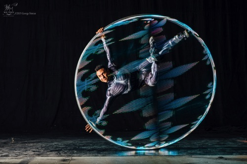 David in Flight LED Cyr Wheel  ~Specialty~
