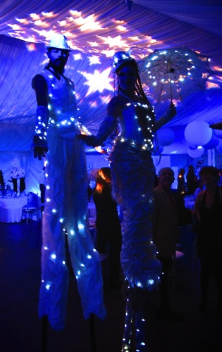 LED Stilt Costumes
