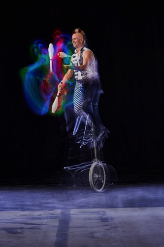 Rob Unicycles LED Rainbow Clubs