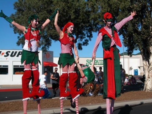 Elf Flips  Mother Goose Parade