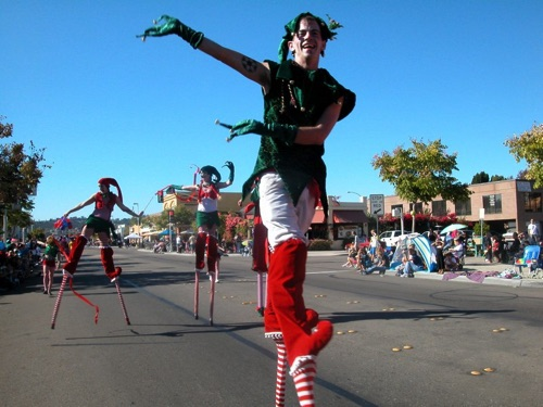 Parading Elves