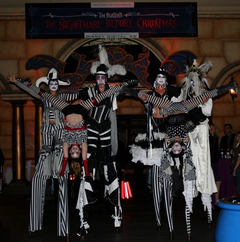 Acrobats on Stilters A Nightmare Before Christmas
